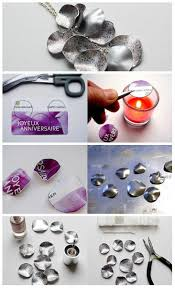 Pin by Wendi Wood Armstrong on Crafts - Repurposing, Reusing & Recycling in  2020   Bottle jewelry, Jewelry crafts, Recycled jewelry