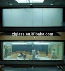 electric opaque window