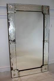 1920 s rectangular venetian mirror with
