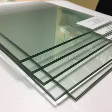 5mm anti fire clear tempered glass