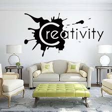 Creativity Wall Lettering Words Removable Room Personality Fashion Funny Decal Vinyl Quote Diy Art Sticker Decor Graphics Diy Art Wall Decal Art Wall Decals From Langru1002 7 93 Dhgate Com