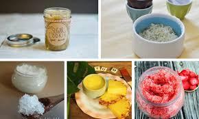organic homemade foot scrub recipes