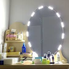 led mirror light dimmable 60 leds 9 8