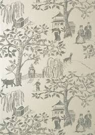 anna french willow wood wallpaper at