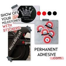 Permanent Adhesive Peloton Fan Stickers