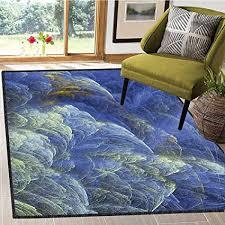 com fractal area rug for