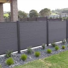 Horizontal Slat Vinyl Fence Fence Design Vinyl Fence Panels Backyard Fences