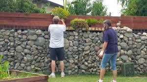 Gabion Wall Diy 2018 Youtube