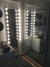 lights leaning length makeup leng