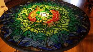 glass on glass mosaic table how to mosaic