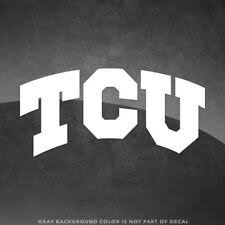 Tcu Horned Frogs Ncaa Decals For Sale Ebay