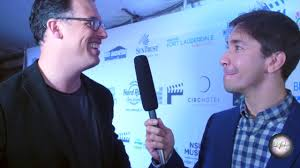 Justin Long & Daniel Schechter on the red carpet at The Fort ...