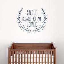 Because You Are Loved Wall Decal