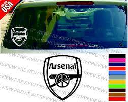 Arsenal Fc Football Soccer Club Cool 3m Decal Car Window Bumper Color Sticker Ebay
