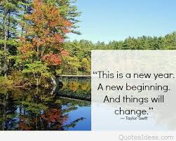 a new year a new begining quote taylor swift