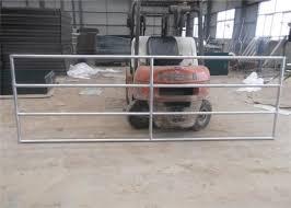 1 5 8 Od 5ft X 10ft Portable Welded Galvanized Pipe Stockyard Farm Fence Panels