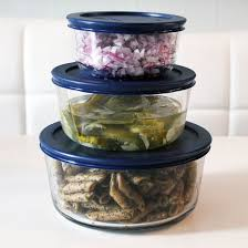 pyrex simply container set