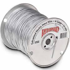 Red Brand Galvanized Electric Fence Wire 14 Gauge 1320 Ft At Tractor Supply Co