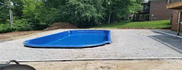 our fiberglass pool services in