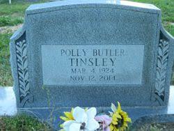 Polly Ann Butler Tinsley (1924-2014) - Find A Grave Memorial