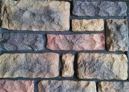 outdoor faux stone wall panels multi
