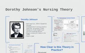 Dorothy Johnson's Nursing Theory by Stephanie Eely on Prezi Next