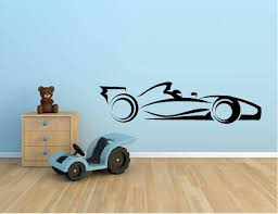 Amazon Com Formula Race Car Vinyl Wall Decal Sticker Kids Room Home Decor 10 X 39 Home Kitchen