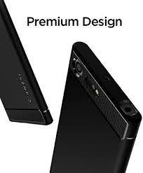 Amazon Com Spigen Rugged Armor Designed For Sony Xperia Xz Premium Case 2017 Black