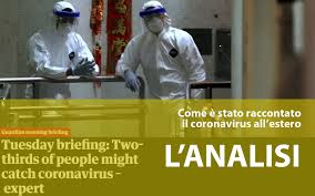 Come è stata raccontata l'epidemia di Covid-19 nella Stampa estera ...