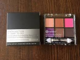 bh cosmetics sixth edition 1st tray to
