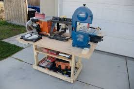 Mobile Power Tool Station By Fridgecritter Homemade Mobile Power Tool Station Intended To Accomm Homemade Mobile Woodworking Projects Used Woodworking Tools