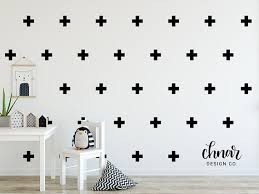 Cross Wall Decals Various Colours Available Perfect For Decorating Any Room Including The Nursery And Kid S Playroom Wall Crosses Kids Playroom Affordable Wall Decor