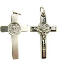 st benedict cross crucifix pendant