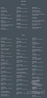 The Antler Room menu in Kansas City, Missouri, USA