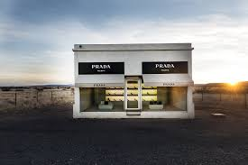 Amazon Com 24 X 36 Giclee Print Of Prada Marfa Is A Permanently Installed Sculpture By Artists Elmgreen And Dragset Not In Nearby Marfa Texas But Near The Town Of Valentine Texas R38