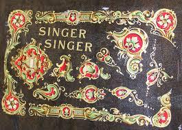 Singer La Vencedora Sewing Machine Decals