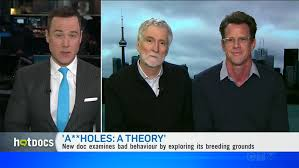 Watch: Director John Walker and Author Aaron James on CTV News - Assholes:  A Theory