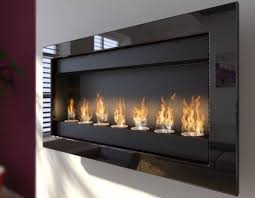 ventless wall mount ethanol fireplace