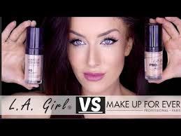 new la pro coverage hd vs make up