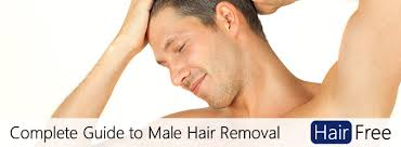 the plete guide to hair removal for men