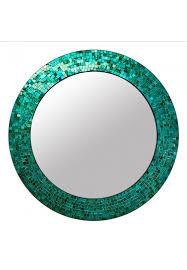 decorative glass mosaic wall mirror