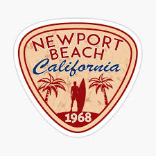 Newport Beach Stickers Redbubble