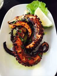 Grilled Octopus Cyprus