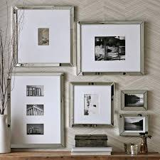 mercury glass frames decorating small