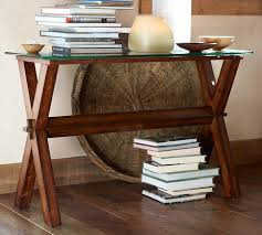 Ava Wood Console Table - Espresso stain - Pottery Barn