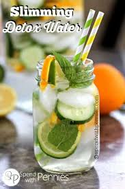 slimming detox water spend with pennies
