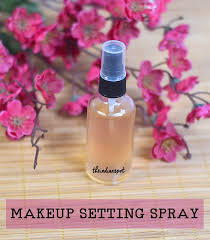 diy 3 natural makeup setting spray