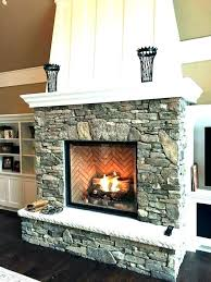 living room fireplace accent wall
