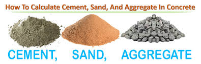 how to calculate cement sand