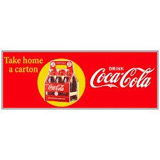 Coca Cola Refreshing Sailboats Wall Decal Vintage Style Coke Bottles Collectibles Rgcollege Com